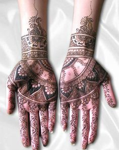 2012 Diwali lattest mehendi pattern collections