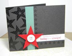 Thinking of You Handmade Card. $3.00, via Etsy.