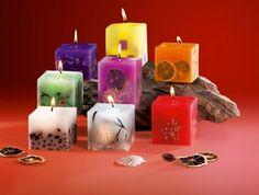 Свечи в домашних условиях. Новогодние оригинальные и красивые свечи своими руками.