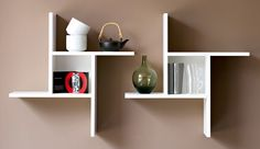Unique and one of a kind, these Eclectic Elements shelves are perfect to add a touch of modern sophistication into the home!