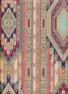 upholstery fabric __ found flickr account of Anna Niestroj, native american textile