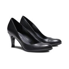 Rudy's - Escarpin noir cuir - STEP