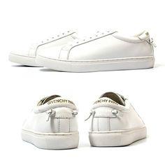 Givenchy Paris Knot Leather Sneakers  지방시 매듭 가죽스니커즈 레더슈즈 신발 운동화