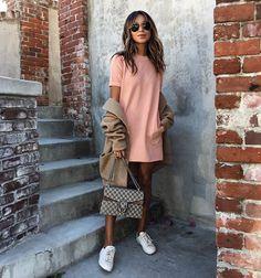 Think pink!  | new Cara sweatshirt dress @shop_sincerelyjules shopsincerelyjules.com