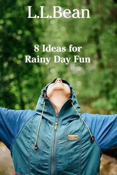 Don't let rain ruin your outdoor plans. Here are some great ideas for spending rainy days outside. (📷: beekayphoto) Rainy Day Fun, Rainy Days, Ll Bean, Outdoor Fun, Ruin, The Outsiders, Ideas, Rain Days, Ruins