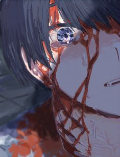 Anime Demon Boy, Dark Anime Guys, Cool Anime Guys, Cute Anime Boy, Anime Eyes, Otaku Anime, Manga Anime, Anime Art, Aesthetic Art
