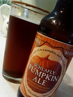 Schlafly Pumpkin Ale. You can really taste the cinnamon, nutmeg, and cloves in every sip without it being overdone. The sweetness and maltiness of this beer is balanced very well.