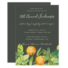 SUCCULENT CACTUS WATERCOLOR FLORAL CORPORATE EVENT CARD - watercolor gifts style unique ideas diy