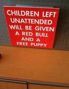 If only we could actually do this!!!! Either we'd have a world full of well behaved children or a lot less pet shelters cause they would all have forever homes...a win-win!