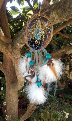 attrape-rêves naturel  ref: DC 160515 de la boutique IndianHeritageArts sur Etsy