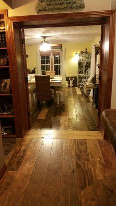 My plywood floor