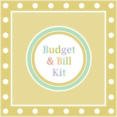 Organize your finances with The Budget & Bill Kit by Spring Home Printables! Track your budget on 24 colorful pages! Set your goals, create a monthly budget, pay bills, track your spending, and reduce your debt with this happy and helpful kit! Instant Download - also available in half size!
