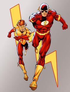 Kid Flash & the Flash