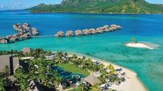 Romantic Getaway in Four Season Resort Bora Bora : Four Season Resort Bora Bora