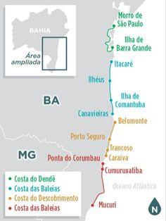 Desbrave as praias do sul da Bahia de carro - Destinos Nacionais - iG