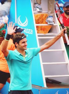 Roger Federer| Istanbul Open 2015 SF↳ def. Diego Sebastian Schwartzman 2-6, 6-2, 7-5