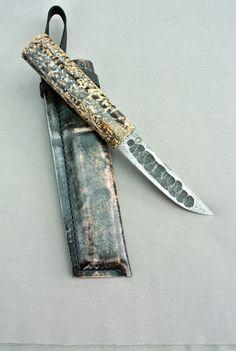 Yakut knife (bykhakh) by Konstantin Isaev