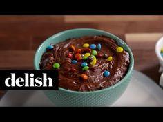 Brownie Batter Dip Recipe - Delish.com