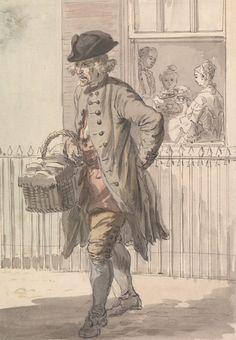 London Cries: A Muffin Man, Paul Sandby RA, Yale Center for British Art, Paul Mellon Collection. Thriller, Google Art Project, 18th Century Fashion, 17th Century, Afraid Of The Dark, Regency Era, Old London, Art Google, Art Projects