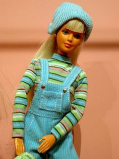 90s Barbie didn't this Barbie come with something for you, like it dyed your hair?
