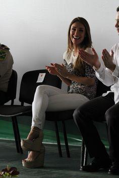 Anahí acompanhando Manuel Velasco em compromissos do governo de Chiapas no Méxco (05.10.15) - HQ - RBD Fotos Rebelde | Maite Perroni, Alfonso Herrera, Christian Chávez, Anahí, Christopher Uckermann e Dulce Maria