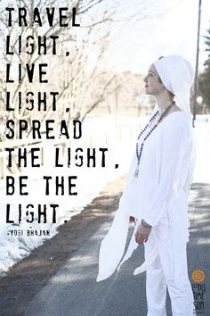 Yogi Bhajan Quote Loved and pinned by www.downdogboutique.com