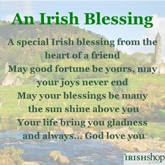 Irish Blessings - A collection of Irish and Celtic Prayers, Toasts and Blessings