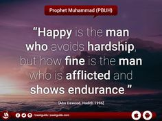 #Happy #Hardship #Who #Afflicted #Endurance #Quote #Hadith #Hadees #Prophet #ProphetMuhammad #Saying