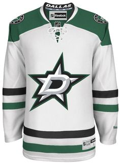Dallas Stars Official Away Reebok Premier Replica Adult NHL Hockey Jersey
