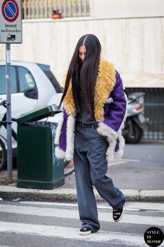 Milan Men's FW15 Street Style: Gilda Ambrosio