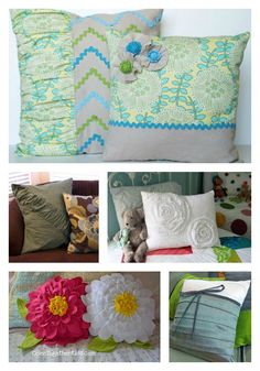 2 MAKE YOUR OWN PILLOWS