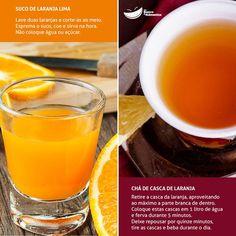suco e cha de laranja