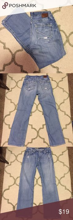 BKE men's Tyler Straight Jeans BKE Denim by Buckle, Tyler straight deconstructed style, size 34XL. In great condition! Retails for $50. I offer discounts on bundles! BKE Jeans Straight