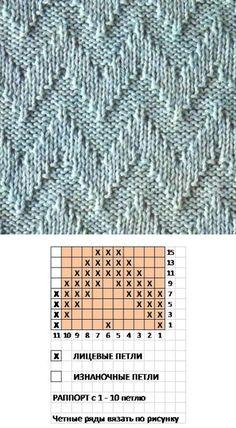 Cable Knitting, Knitting Stitches, Knitting Patterns, Lace Patterns, Stitch Patterns, Corridor Design, Knit Crochet, Crochet Hats, Embroidery Dress