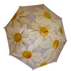 Mano del paraguas pintado manzanilla manzanilla por Pletkata