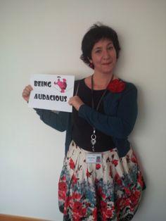Sandrine, Partner Support, #VMware #Cork #WomensDay #InspiringChange