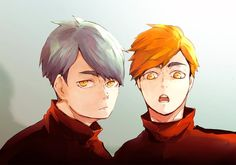 Atsumu and Osamu Haikyuu Nekoma, Haikyuu Fanart, Haikyuu Anime, Anime Ships, Beautiful Men, Anime Art, Twins, Fan Art, Fictional Characters