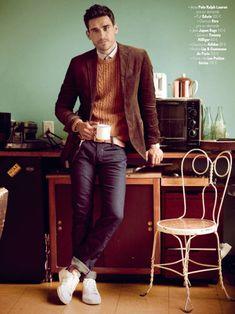 Arthur Kulkov is Brooklyn Chic for GQ Frances September Issue