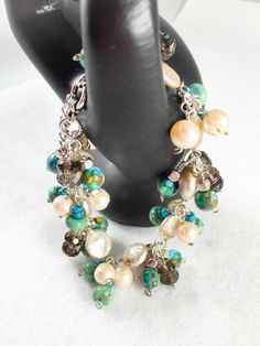 A personal favorite from my Etsy shop https://www.etsy.com/listing/269773181/turquoisefreshwater-pearl-gemstone