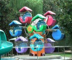 10 Cabins Double Ferris Wheel