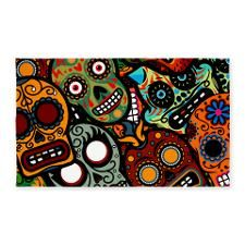 Day of the Dead 3'x5' Area Rug for