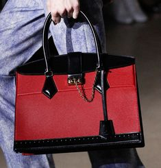 Louis Vuitton's Fall 2017 Bags Fall Exactly in Line with the Precent the Brand Has Set Recently