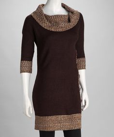 sweater dress // This I would wear w/Brown Boots // | My Style ...