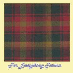 Maple Leaf Canadian Tartan Dupion Silk Plaid Fabric Swatch  by JMB7339 - $40.00