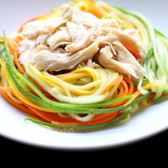 Zucchini or vegetable 'noodles' are a healthy and summery alternative to pasta!