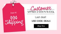 Customer Appreciation Week Order at www.youravon.com/bkeller today for .99 shipping on any order using code DEAL5 at checkout with me, Ben Keller, Avon Ind Sales Rep in Harrison, OH Register at my site for exclusive email offers! I send out free gifts and samples for every order placed with me. Like, share, and comment.