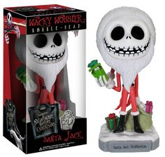 Funko Wacky Wobbler: The Nightmare Before Christmas - Santa Jack