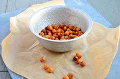 Gezonde snack: Geroosterde kikkererwten - Uit Pauline's Keuken