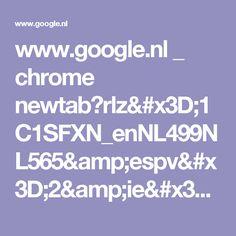 www.google.nl _ chrome newtab?rlz=1C1SFXN_enNL499NL565&espv=2&ie=UTF-8