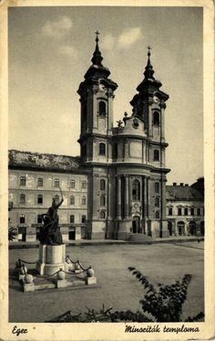 Az egri Páduai Szent Antal-templom / Minorita templom 1939